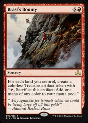 4 SLAUGHTER THE STRONG ~mtg NM-M Rivals of Ixalan Rare x4