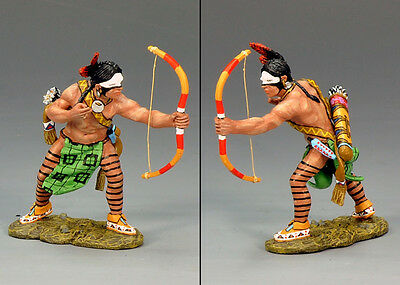King and Country Warrior firing Bow and Arrow TRW019
