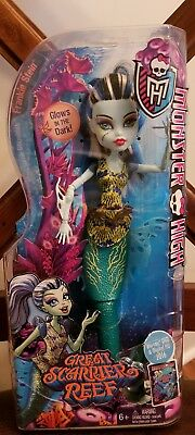 Mattel Monster High Great Scarrier Reef Glowsome Ghoulfish Frankie Stein Doll
