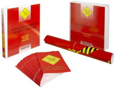 MARCOM DOT In-Depth Hazmat Security Training DVD Training Kit