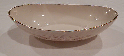 """Lenox Gaylord H501 9 3/4"""" Oval Vegetable Bowl Made In U.s.a."""