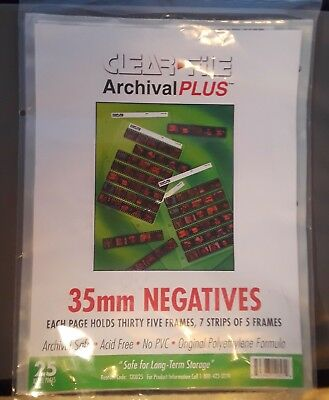 Sheet Protector Sleeves *14* pages  -35 mm Negative Preservers