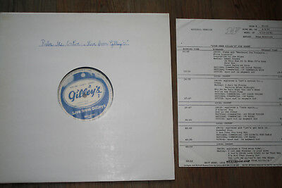 """LP - REBA McENTIRE - Live from """" GILLEY's """""""