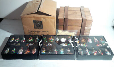 NEVER USED! 2002 Thomas Pacconi Classics 36 Blown Glass Ornament Collection