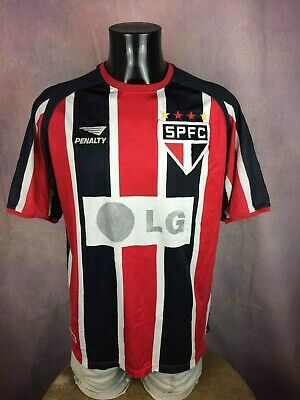 SÃO PAULO Maillot Jersey Camiseta 2002 Away Penalty Made in Brazil #10 SPFC A