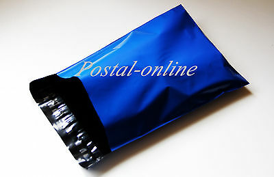 BLUE Postal Postage Mailing Poly Bags 13 x 19 13x19 5 10 20 50 100 200 500 1000