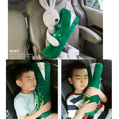 For Kids Children Car Seat Strap Belt Cushion Cover Doll Safety SeatBelt Toy Pad