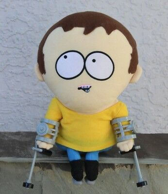 RARE Talking South Park Jimmy Comedy Central Plush Doll Crutches From 2002