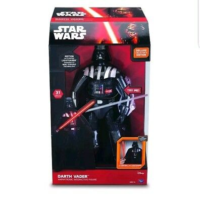 Star Wars Darth Vader interaktive Actionfigur 43 cm Deutsch Sound und Licht