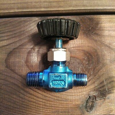 HOKE 3700 Series Stainless Steel 360 Needle Valve 3752H4Y VA Nadelventil 345 BAR