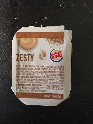 Zesty Onion Ring Sauce From Burger King