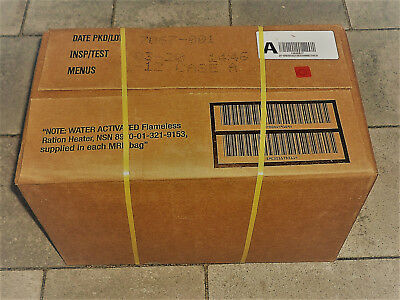 US ARMY MRE - Meal ready to eat Case A