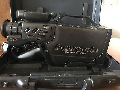 Panasonic OmniMovie VHS HQ AFx8. Works but no battery included.