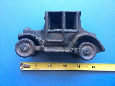 1930s Cast Iron Car Vintage Antique Hard To Find This Style!