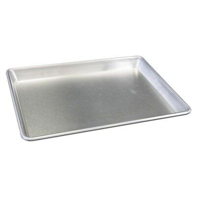 "Heavy Duty Full Size 12-Gauge Aluminum Sheet Pan 18"" x 26"", 1-Piece"