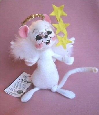 ANNALEE Mouse Angel w/Stars & Halo