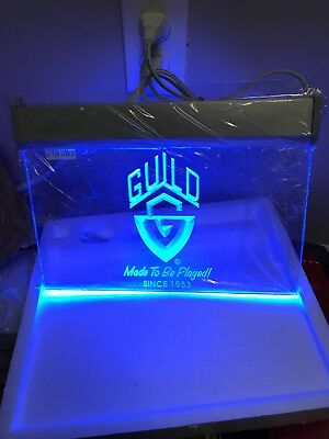Guild Guitar Neon Bar Sign. New!!