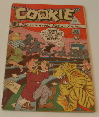 Cookie #21, ACG/Triangle, Canadian White ed., 1949, G+