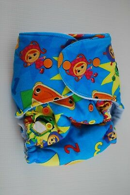 BubbyBums Umizoomi Hybrid Fitted One Size Diaper