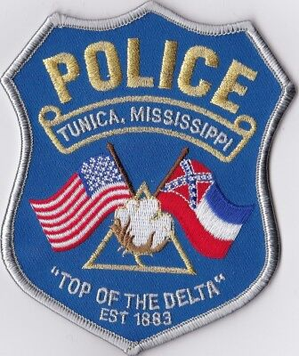 Tunica Police MS Mississippi Patch NEW!!