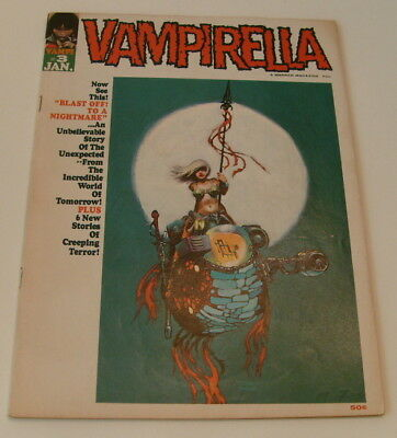 Vampirella #3, 1970, Warren, Billy Graham, FJA, Bode & Todd, scarce issue