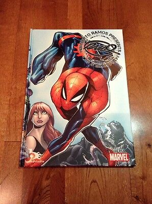 Humberto Ramos Presents My Marvels Hard Cover Art Book Marvel Sketches Spiderman