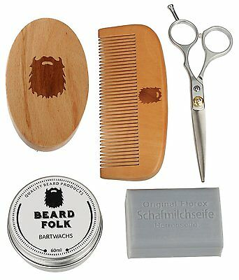Beard Folk Bartpflegeset -All in One-
