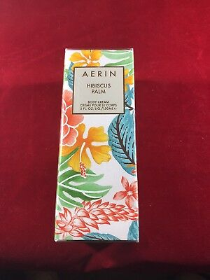 Aerin hibiscus palm Body Cream Brand New Sealed 5 Fl. Oz.