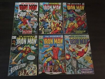 Iron Man #26 - 31 Lot Of 6 Marvel Comics Fn