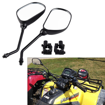 New Rear View Mirror Motorbike ATV QUAD BUGGY BIKE w/ Mount Holder 7/8 Handlebar