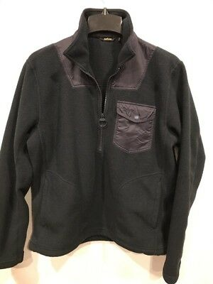 Barbour Farimond Fleece Pullover Jacket | Size Large | Navy