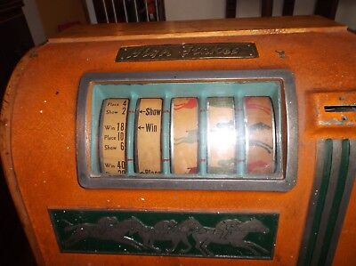 Groetchen High Stakes 5 Cent Trade Stimulator 1935 Horse Raceing