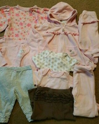 Baby Girl Clothes Lot Size 6 Months