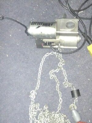 Little Mule 500 Lb Electric Chain Hoist  110v