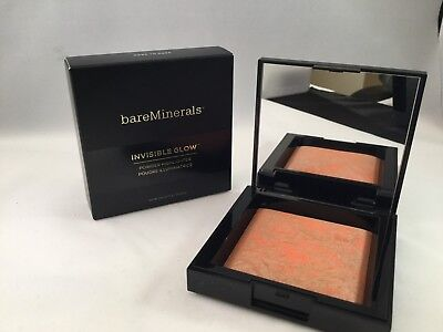bareMinerals Invisible Glow Powder Highlighter-DARK TO DEEP  NEW IN BOX
