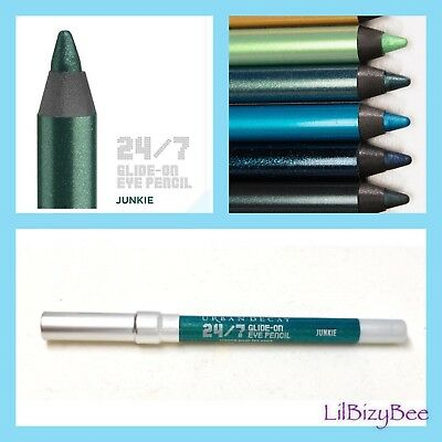 New ❤️ URBAN DECAY 24/7 Glide-On Eye Pencil JUNKIE .03 oz ❤️ Travel Size