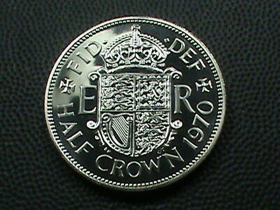 GREAT BRITAIN  1/2 Crown   1970   PROOF