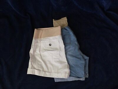 Maternity Shorts, Lot Of 2, Size Large, A.n.a, Planet Motherhood