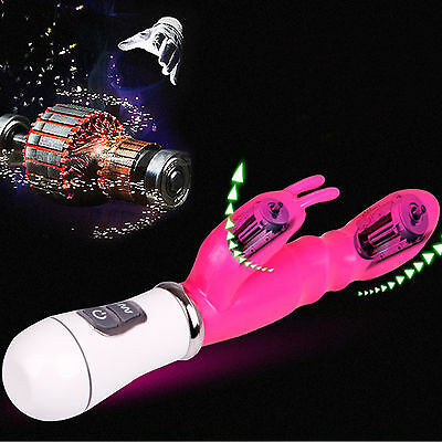 Hot-Multi-speed-Vibrating-Massager-Penis-Clitoris-Vaginal-G-Spot-Rabbit-Dildo