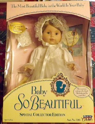 Baby So Beautiful Special Collector Edition Number NEW Christening Day Blessing
