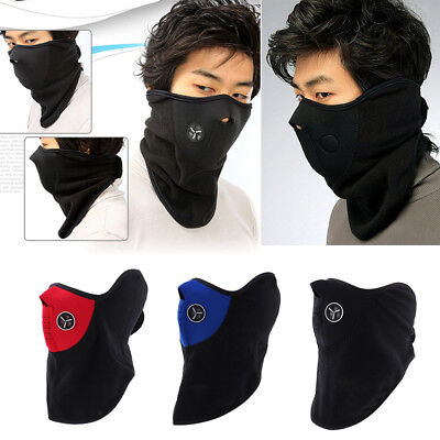 Motorcycle Snowboard Ski Bike Anti-dust Cycling Half Face Mask Neck Warmer Cover