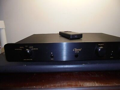 Classe' Audio CP45 preamplifier, w/remote , audiophile quality, very high end