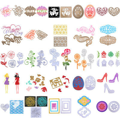 Metal Cutting Dies Stencil DIY Scrapbooking Embossing Album Christmas Card Craft