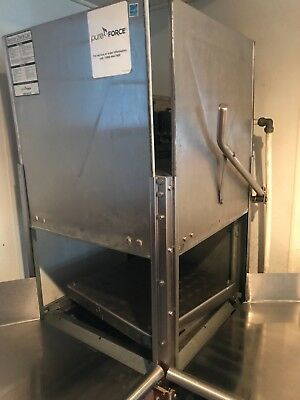 commercial dishwasher low temp machine, includes chemicals & multiple racks.