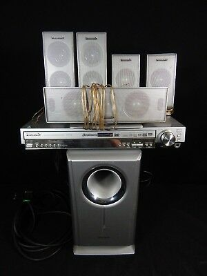 PANASONIC SA-HT720 Home Theater Surround Sound Complete 5 DISC System 6 SPEAKER