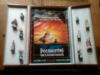 "Feves Coffret Diorama ""Pocahontas"""