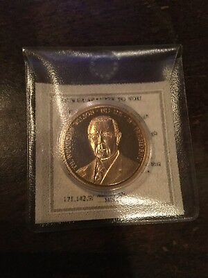 Greatest American Presidents 1913-1921 Mint Proof Commemorative Coin In Case