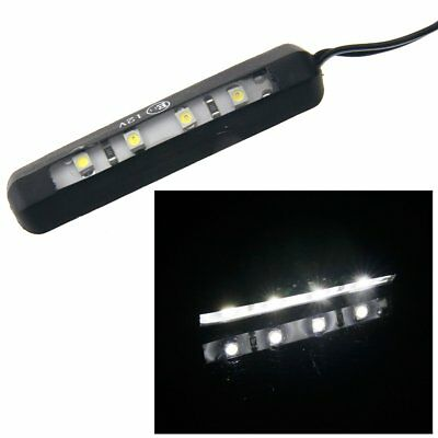 12V 4 LED License Number Plate Light Tail Rear Lamp Truck Trailer Lorry White AU