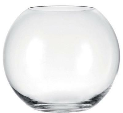 Modern Massive CLEAR GLASS Table Round Spherical Shaped Ball Bowl VASE Fish Tank