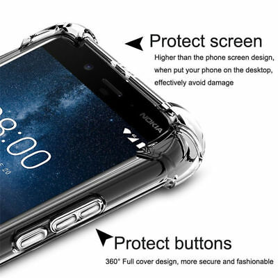 For MEIZU M6S M6T 16 15 PLUS M6 Note M5S Clear Shockproof Soft TPU Cover Case